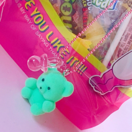 Pop Cutie 90's Babies Binky Bear Mint