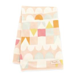 Majvillan deken Jersey Tivoli pink