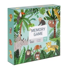 Memory spel jungle dieren