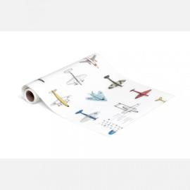 Studio Ditte behang Vliegtuigjes
