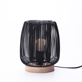 Kids Depot lamp tafellamp Zazu zwart