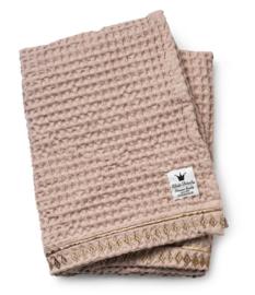 Elodie Details Blanket Waffle Gilded Pink