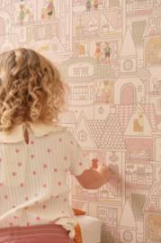 Majvillan behang Dollhouse Sunny Pink 147-03