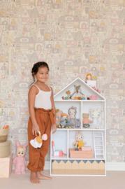 Majvillan behang Dollhouse Soft Wool White 147-01
