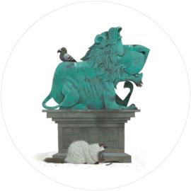 Behangcirkel  Statue CK-035