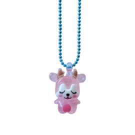 Pop Cutie Gacha  ketting baby deer pink