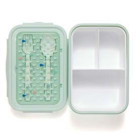 Bento lunchbox drops green