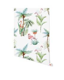 Creative Lab behang Flamingo Palm