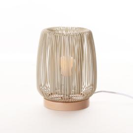 Kids Depot lamp tafellamp Zazu beige