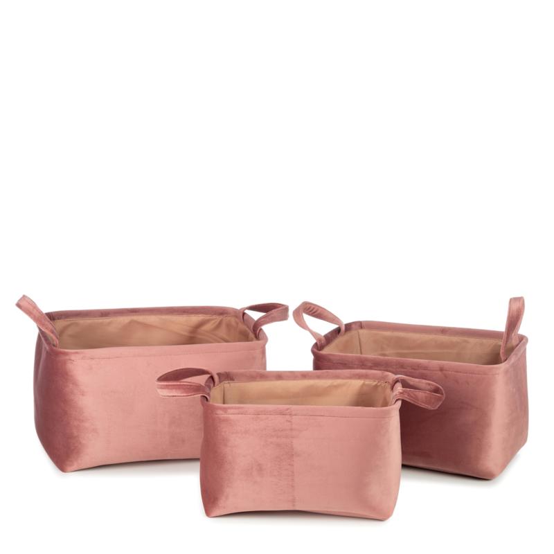 Billie mandenset van 3 pink