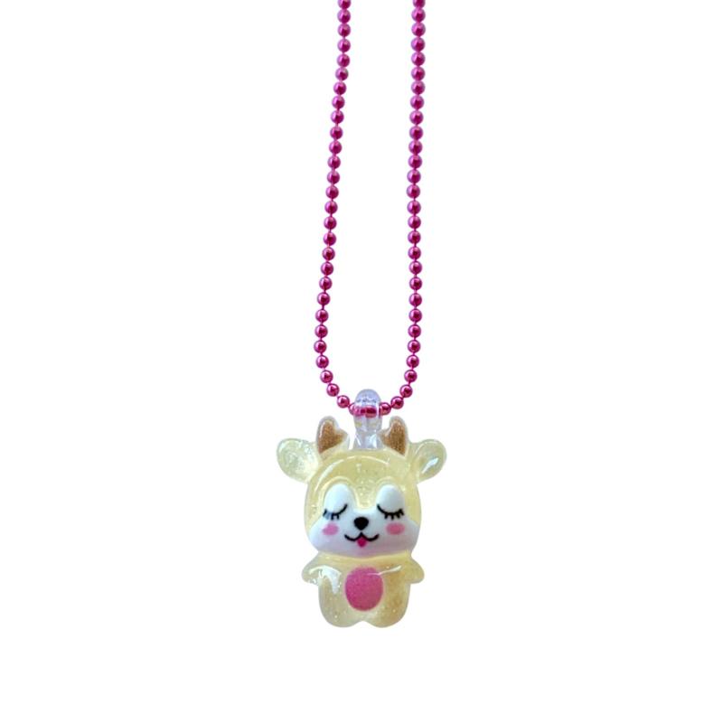 Pop Cutie Gacha  ketting baby deer gold