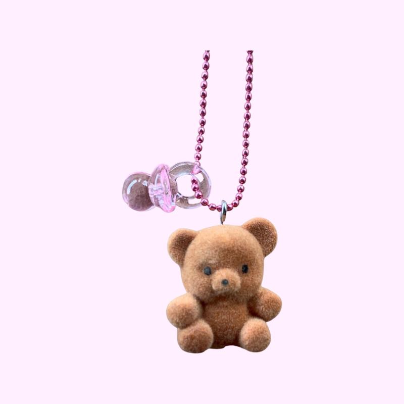 Pop Cutie 90's Babies Binky Bear Brown