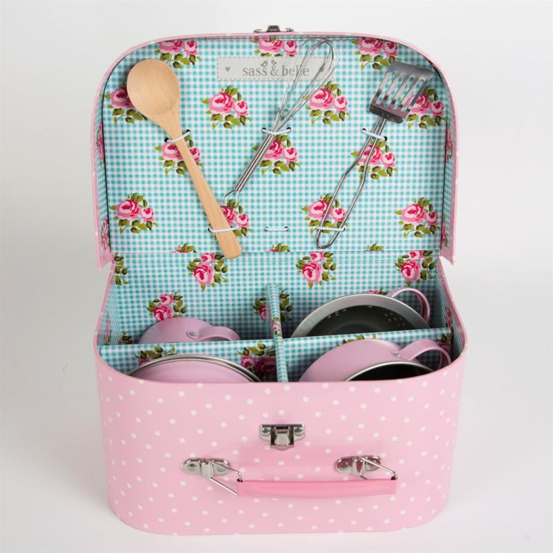 Sass & Belle Koffertje kookset roze
