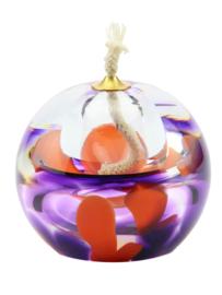 As- Olielampje * Purple - Orange