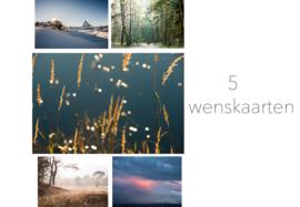 Set wenskaarten (5)