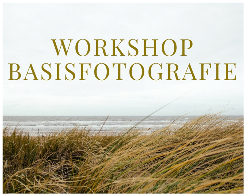Workshop - basisfotografie