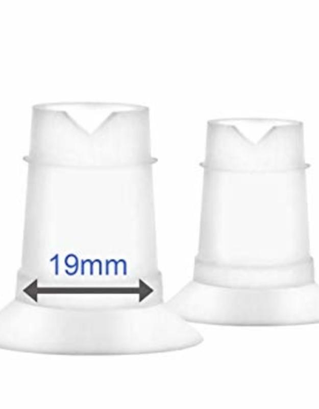 Borstschildverkleiners 19mm of 17mm