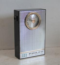 Philco 8 transistor Model T81 BKG,  jaren 60