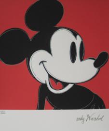 Andy Warhol - Zeefdruk CMOA - Mickey Mouse - Oplage 5000 ex (1003/5000)