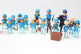 Playmobil Western - Grote partij Blauwbloezen / Noorderlingen