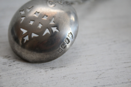 Zilveren zifter lepel, Sheffield 1932