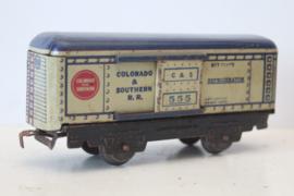 Marx Toys 555 - Refigirator wagon - Colorado & Southern - ca 1937/38