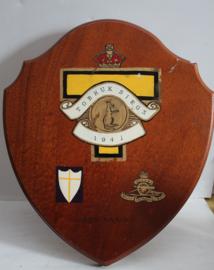 Groot herdenkingsschild Tobruk Siege 1941