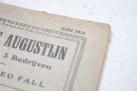 Holdert & Co. - Amsterdam - Opera en Operette tekstboekjes - 1927/30