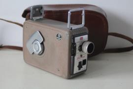 Vintage Kodak Brownie 8mm film Camera II met paraattas