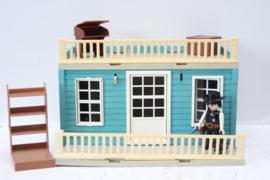 Playmobil Western huis / bank met accessoires