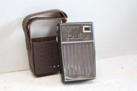 Transistor radio - Golden Eagle met chromen front