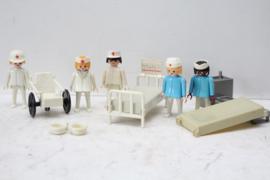 Playmobil ziekenhuis - gemengd setje ziekenhuis personeel
