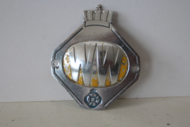Vintage ANWB / Wegenwacht auto badge, ca 1950