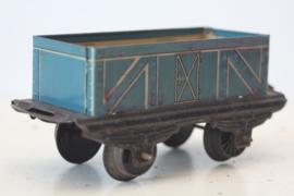 Spoor 0 - blikken goederen wagon - Made in US zone Germany - ca 1950