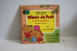 Walt Disney - Winnie de Poeh - Boekje met mini L.P.