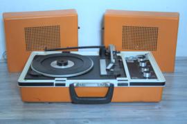 Vintage koffergrammofoon Wifona