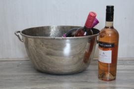 Zwaar verzilverde antieke wijnkoeler
