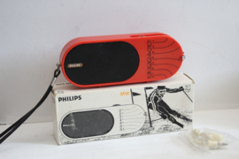 Transistor Radio - Philips 90RL136 rood