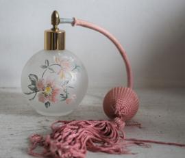 Parfum fles met pompje