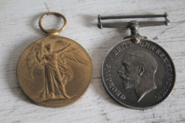 WW1 medailles - 84190 Private S Panter - Royal Army Medical Corps