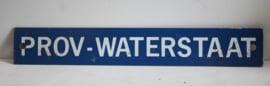 Bordje Prov - Waterstaat (provinciale waterstaat)