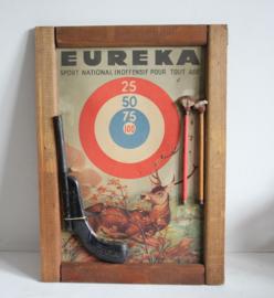 Mayer & Grammelspacher - 'Eureka' dart pistol op originele kaart - 1940-1949 - Duitsland