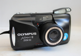 Olympus Mju II zoom 80 inc doosje en beschrijving