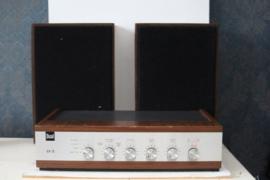 Dual CV 12  Versterker met SX 6400 luidsprekers