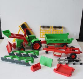 Playmobil tractor  met toebehoren - 3500, 3501 en 3502