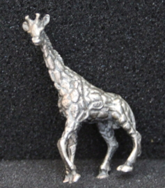 Miniatuur giraffe, zilver .835