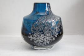 Schott Zwiesel - Blauw glazen Florida vaas door Heinrich Löffelhardt #2