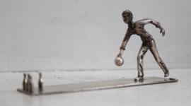 Miniatuur kegelspeler