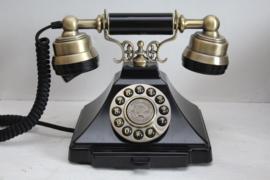 Antiek look Telefoon - zwart