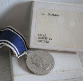 Medaille - WWII era politie medaille - Sergt. Robert H. Ogilvie